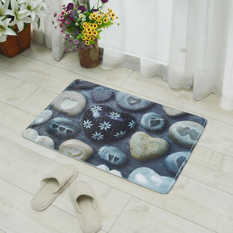Puidumustri või kividega matid