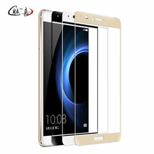 MEIJIA 9H Full cover glass For huawei P10 P9 lite nova P10 plus screen protector for huawei honor 9 8 tempered glass film(China)