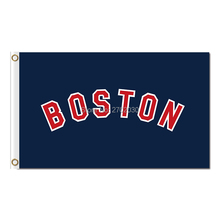 Your Texr Custom Boston Red Sox Flag Fans Baseball Team Custom Banners Major League Baseball Flags Banner 100D Polyester Hand