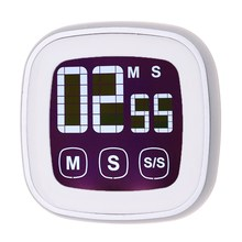 LCD Digital Touch Screen Kitchen Timer With Backlight Cooking Tools Digital Timer Alarm Clock By LR03 AAA Batteries