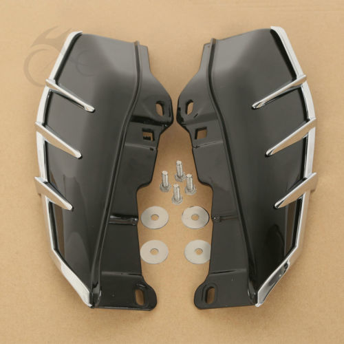 Mid-Frame Air Deflectors W/ Trims For Harley Davidson Ultra Electra Glide FLTR<br>