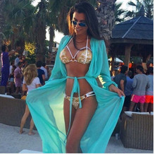 Women Swimsuits Beach Cover up - Sexy Long Chiffon Bikini Cover ups Kimono Swimwear Coverups Beachwear