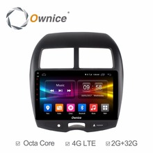 Octa Core 2G RAM+32G ROM Android 6.0 Car DVD Player For Mitsubishi ASX 2011-2015 GPS Navigation Radio Stereo BT(China)