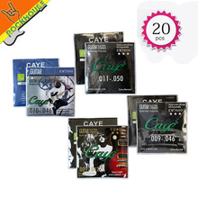 20sets/lot Orphee Electric guitar strings EW series guitarra strings 009-042 011-050 Nicel alloy from Italy durable Wholesale
