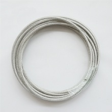 7X19 Structure 5mm High Tensile 5MM Diameter AISI 304 Stainless Steel Wire Rope Cable