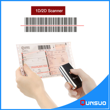 Portable bluetooth barcode reader mini wireless barcode scanner(China)