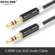 VOXLINK 3.5mm jack Car Audio Cable Male to Male AUX Auxiliary sound Stereo Audio Cord For Phone MP3 Media player