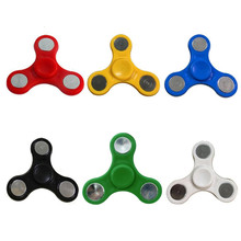 Buy Plastic EDC Fidget Spinner Tri-Spinner Fidget Toy Kids Adult Hand Spinner Autism ADHD Anxiety Stress Relief Focus Toy for $1.15 in AliExpress store