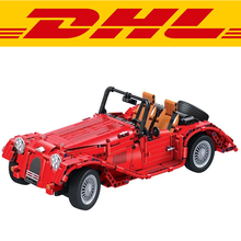 2017 New 1141Pcs 7062 Technology Series Classic Convertible Car Model Building Kits Blocks Bricks Children Toys For Gift
