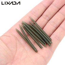 100pcs/lot Terminal Carp Fishing Anti Tangle Sleeves Connect With Fishing Hook 53mm Fishing Accessories