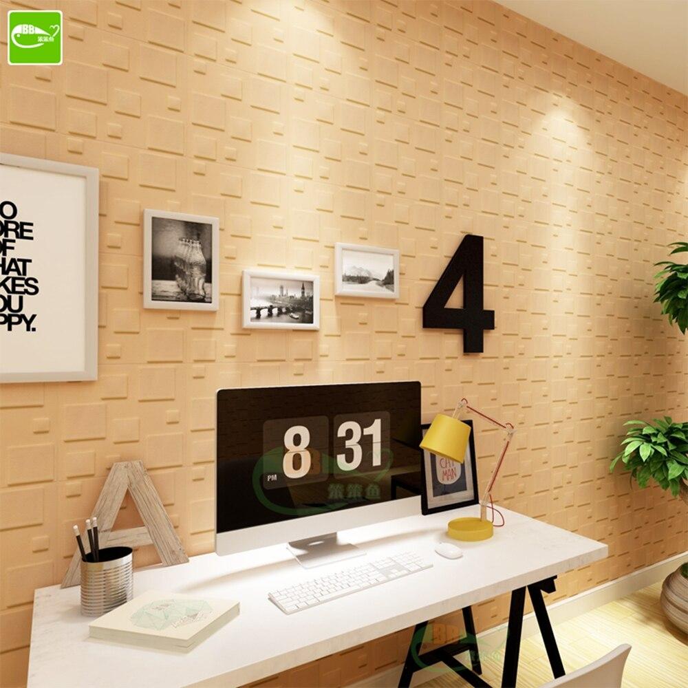 1pcs DIY Wall Stickers Foam Acoustic Panels Soundproofing Treatment ...