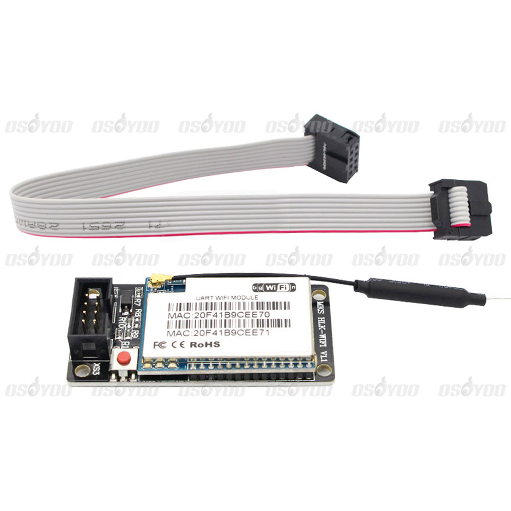 Wireless router HLK-RM04 WIFI module MKS HLKWIFI V1.1 remote control for MKS TFT touch screen for 3D printer<br><br>Aliexpress