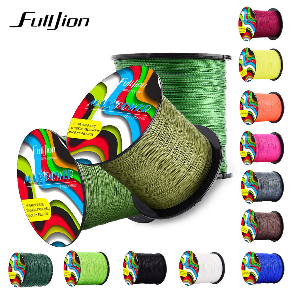 4-Strands Multifilament Fishing-Lines Braided Fulljion Carp Japan PE Super-Strong 100m title=