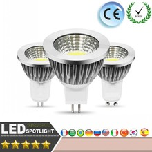 LED Light Bulb E27 GU10 E14 MR16 GU5.3 Dimmable 12W15W 20W COB Spotlight AC85-265V Warm Cold White Wall Support Dimmer Ceiling(China)