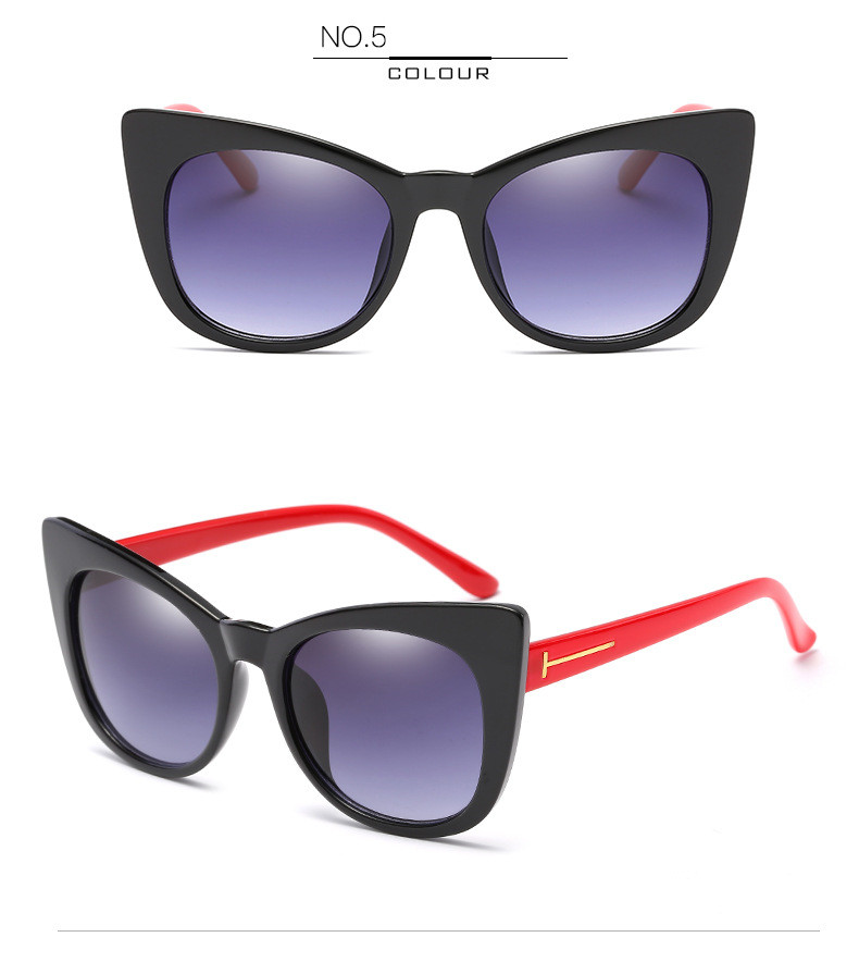 Luxury Vintage Cat Eye Sunglasses Women Brand Designer Retro Female Sunglass Points Sun Glasses For Women Ladies Sunglass Mirror (11)