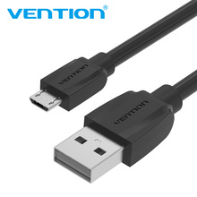 Vention Micro USB Cable 1m 2m 3m 2.1A Fast Charging Data Sync Micro USB Charger Cable For Samsung Xiaomi LG Huawei Android Phone(China)