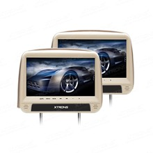 "Pair of 9"" Touch Panel Design Headrest Car DVD Car Headrest DVD Headrest Car Monitor DVD with Built-in HDMI Port(China)"
