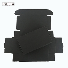 50pcs-( 80-133mm) Black paper aircraft box for handmade soap candy jewelry DIY gift packaging box
