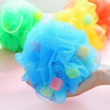 Cute Bowknot Bath Ball Sponge Head Body Shower Cleaning Bath Flowers Bath Product -46