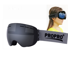 PROPRO winter ski goggles men women snowboard goggles mask guard snow eyewear protect UV protection myopia frame sports glasses(China)