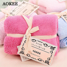 AOKEE Brand 34*80cm High-Quality Microfiber Bath Towel Hair Face Towel Fast Drying Bath Towel for Sports/Hotel/Home toalha banho