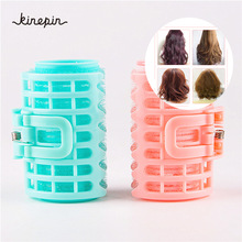 4pcs/set Plastic Hair Curler Roller Large Grip Styling Roller Curlers Hairdressing DIY Tools Styling Home Use Hair Rollers