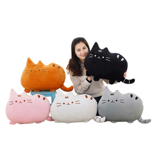 40*30cm Animal toy Pusheen Cat For Girl   Kawaii Cute Cushion Brinquedos Plush Toys Stuffed Animal Doll Talking  Free Shipping