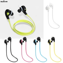 Brand New Stereo Bluetooth Earphone Wireless Handfree Earset Stereo Earphone Sport Universal For All Phone Noise Cancelling(China)