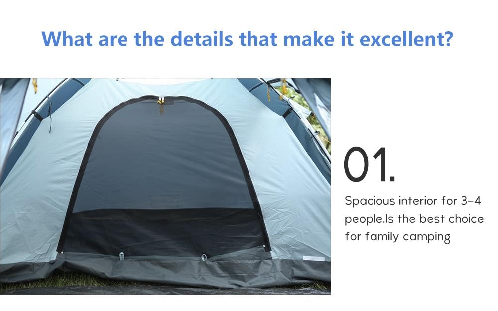 outdoor Camping tent pop up tent 4