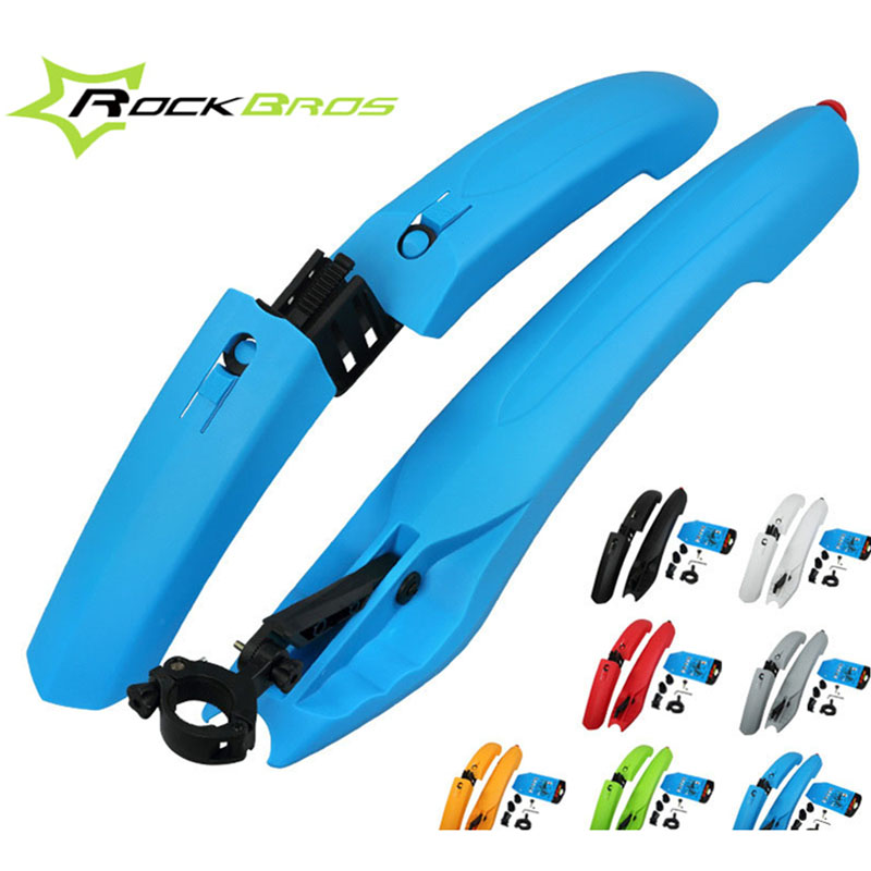 Bike Bicycle Road Front Rear Guardabarros fender wings Mudguard taillight Extended Edition Accesorios para bicicletas