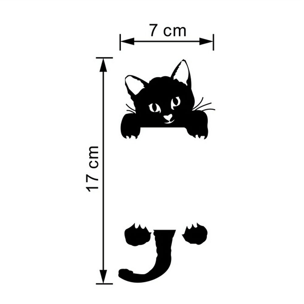 Cute New Cat Wall Stickers Light Switch Decor for a living room Cute New Cat Wall Stickers Light Switch Decor for a living room HTB1r 2lnZjI8KJjSsppq6xbyVXar