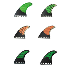Half Carbon Fiber Future Fins G5 Barbatana Surfboard Fin Thruster Honeycomb Fibreglass Fins 6 Colors Available 3 Pieces
