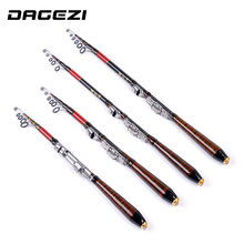 DAGEZI Fishing Rod Rock Carbon Spinning Fishing Pole Ultra Light 2.7M/3.0M Carbon Fiber Carp Feeder Rod Surf Casting Rod