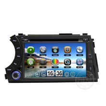 2 din 7 inch GPS for Ssangyong Actyon Kyron Car radio tape recorder with DVD GPS Navigation 3G USB BT Ipod ATV Free map