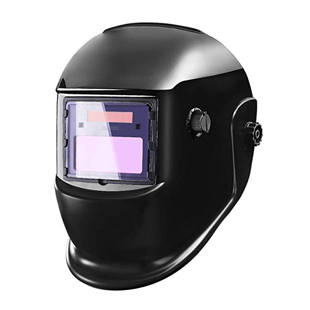Solar Energy Automatically Darkening Welding Helmet Tig Mig Arc Mask Grinding US