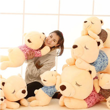 1pcs 60cm Large plush toys teddy bear doll dream girl creative Papa Bear Hug Day Gifts
