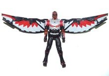 "Marvel Movie Captian American 3 Civil War Falcon 7"" Loose Action Figure(China)"