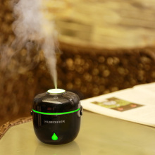 Mini 230ml round Rice cooker shape usb mini Air humidifier Aroma Essential Oil Diffuser LED Lights mist maker(China)