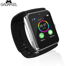 GAGAFEEL Touch Screen Smart Watches for Android iOS iPhone Man's Sport Stop Watch Clock Camera Smart Bracelet for Men Male