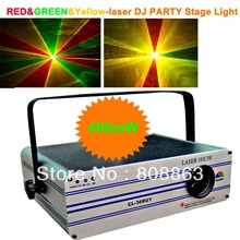 HT 400mw Green Red Yellow Laser projector Party Bar Club lighting light show DJ Disco Dance KTV Professional Stage Lights system