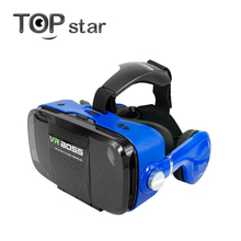 VR Boss 360 Degree VR Virtual Reality 3D Glasses Google Cardboard for 4.0-6.3 inch phone  +Bluetooth Controller