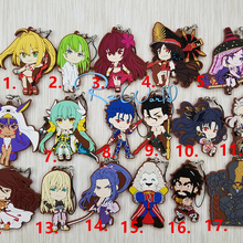 Fate/Grand Order FGO Anime Kiyohime Ishtar  Summer Swimsuit Rubber Keychain