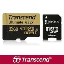 Transcend 633x 32G 64GB TF Card microSD Memory Card microSDXC SDHC Card 3D video For Phone PAD Tablet GoPro HERO Sports Camera