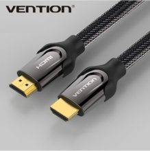 Vention HDMI Cable 1m 2m 3m 5m Male to Male Gold Plated HDMI 1.4V 1080P 3D for PS3 projector HD LCD Apple TV computer cable(China)