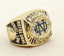 The Best Quality 1988 Notre Dame Custom Sports Replica World Men Championship Ring(China)