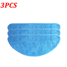 3Pcs Cleaning Mop Cloth Pad CHUWI ILife V3 V3S V5 V5S V5 Pro V50 V55 Robot Vacuum Cleaner Replacement Mopping Cloth Pads
