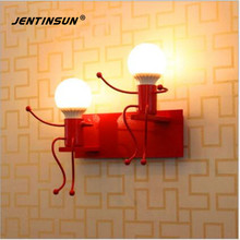 New Modern Interior Wall Light LED Creative Cartoon Mounted Sconce Lighting Lamp for Kids Baby Room Living Room Bedroom Bedside