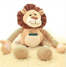 Dorimytrader 35'' / 90cm New Hot Giant Stuffed Soft Toy Plush Animal Lion Doll Nice Baby Birthday Gift Free Shipping DY60107