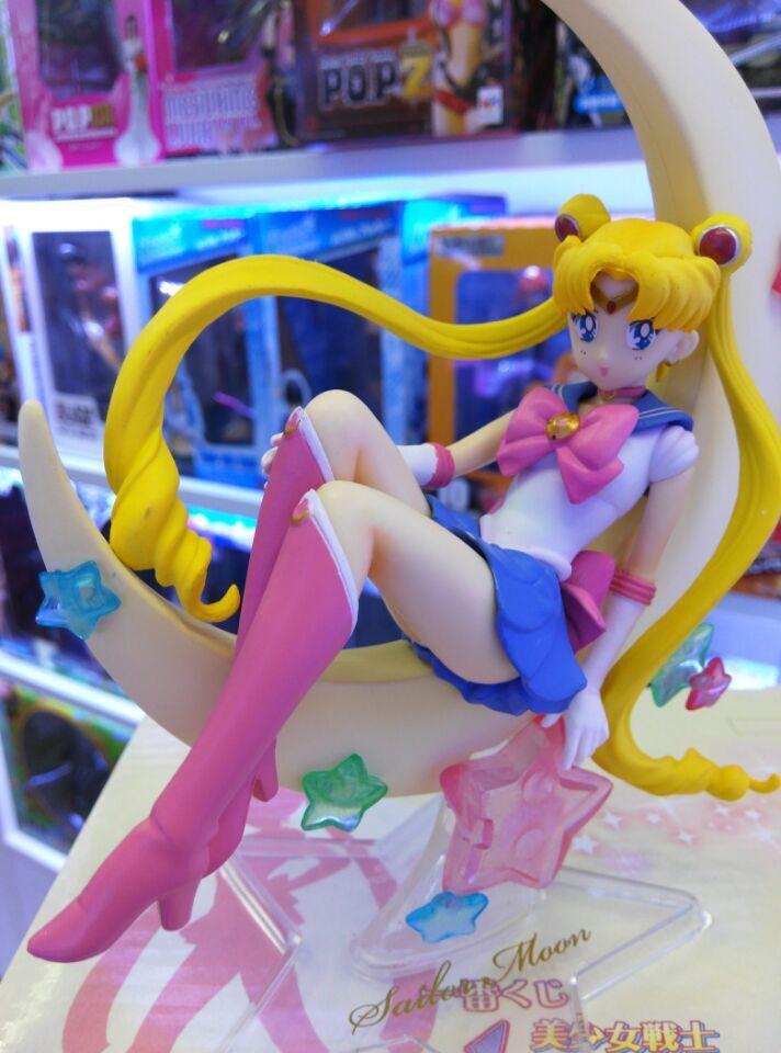 Sailor Moon Figure Set Tsukino Usagi PVC Action Figure Collectible Model Sailor Moon Figure Toy 150MM Anime Sailor Moon Toys<br><br>Aliexpress