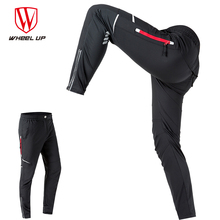 WHEEL UP Spring Autumn Men Cycling Pants Long Sport Pants Mountain Bike Pants Reflective Cycling Long Trousers bicycle pants Men(China)